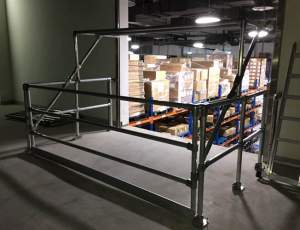 Pallet Gate - a safe access solution for a wide opening