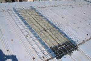 Skylight Screens rib corrugated roof style