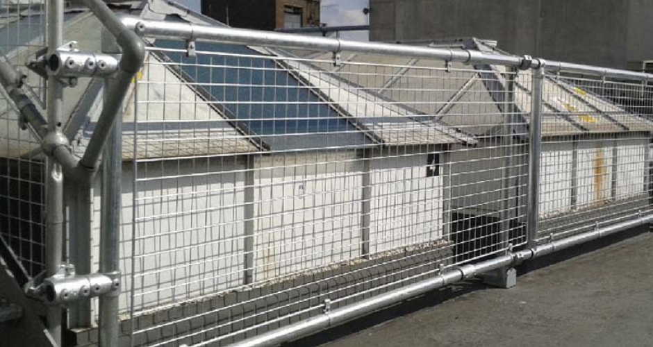 Roof Guard Rails Kee Safety Uk