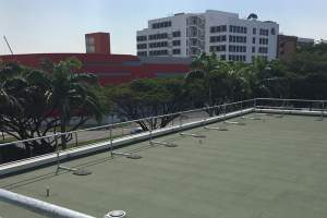 Roof Guardrails for a Singapore Manufacturing Plant