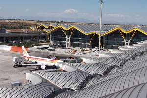 Safety solution for airport roofs