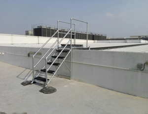Fall protection systems provide safe access to a standing seam roof