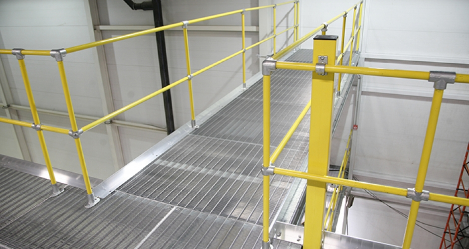 KEE KLAMP safety handrails and guardrails