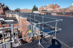 Rooftop Safety Gates