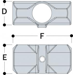 L26 - Two Socket Cross