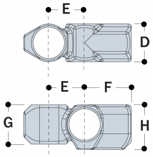 L46 - Combination Socket Tee and Crossover