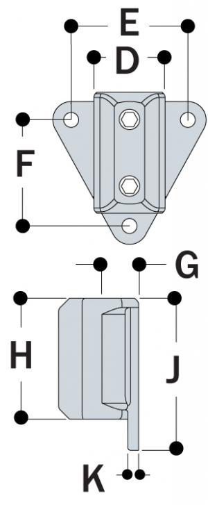 L68 - Wall Flange