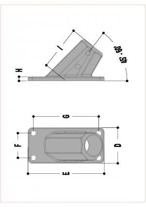 L63 – Angle Base Flange