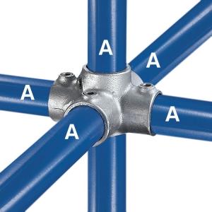 40 - Four Socket Cross