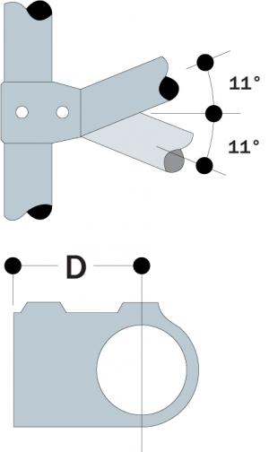 86 - Angle Tee