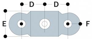 M51 - Male Double Swivel Socket Member