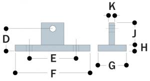 M58 - Swivel Flange Plate