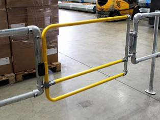 Industrial Safety Gate compliant with international safety standards