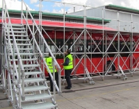 Kee Safety designs bespoke access paltforms for a bus operator