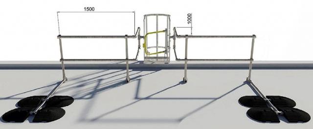 Geländer Vorschriften Din sichere leiterausstiege auf dächer absturzsicherungen
