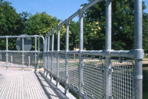 Ground based railings