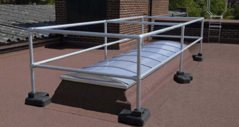Kee Dome skylight guardrail