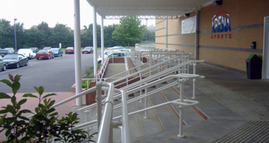 KEE ACCESS handrails for the disabled