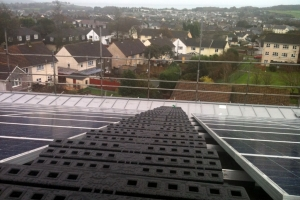 Solar Panel Safe Access at Prince Charles House, St Austell, UK
