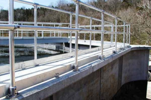 Aluminium Safety Railings