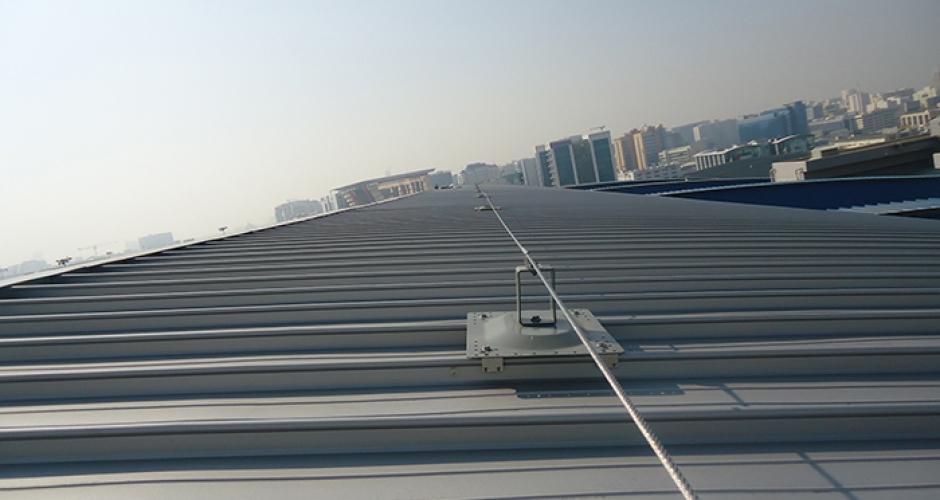 Horizontal Lifeline System Kee Safety Singapore