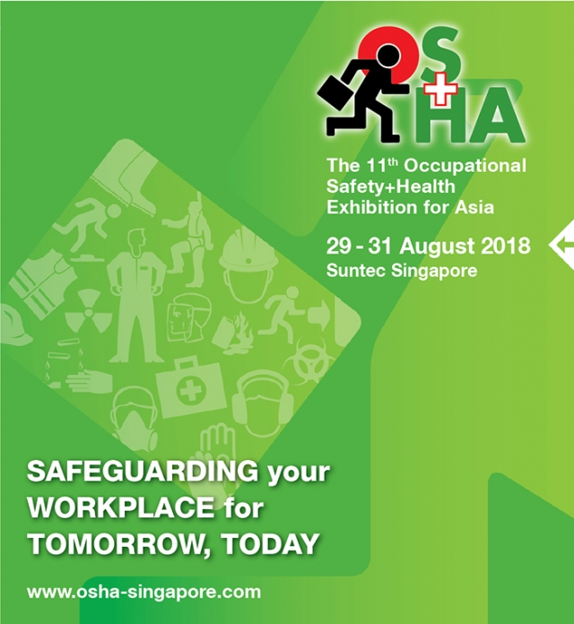Come and see us at OS+H Asia 2018