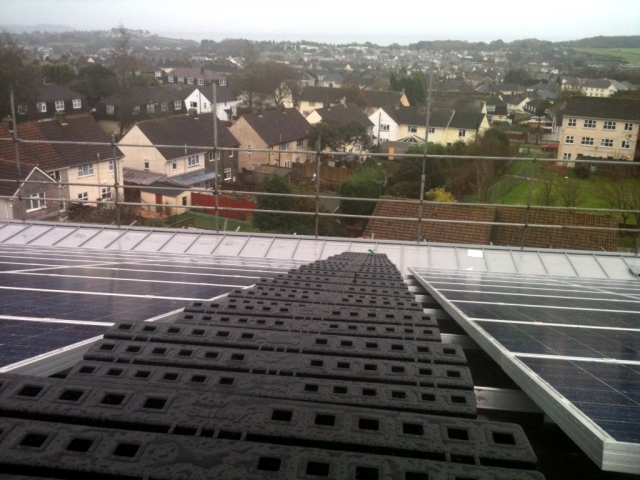 Solar Panel Safe Access at Prince Charles House, St Austell