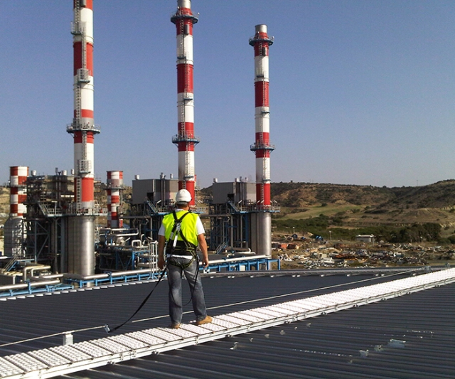 Kee Safety restores safe access to Cyprus power station