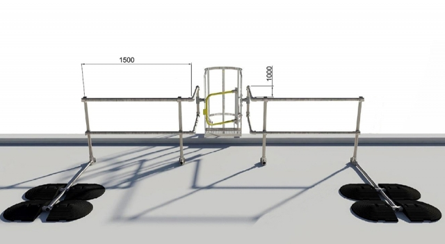 Safe Access Onto A Roof From A Ladder Legislation Kee
