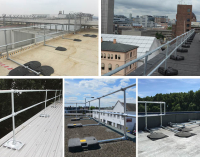 KeeGuard roof edge protection shortlisted for Tomorrow's Health & Safety Awards