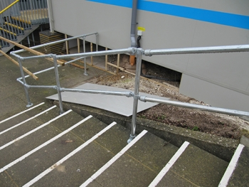 Kee Safety Handrails Provide Safe Access At The University