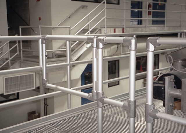 KEE LITE fittings for cost effective handrailing