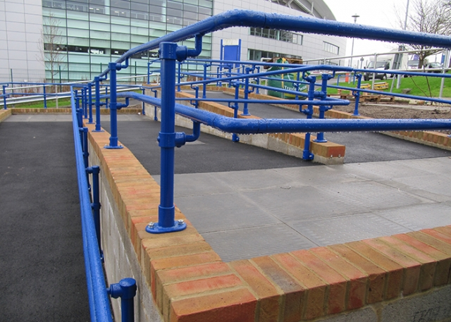 Kee Safety Handrails Provide Safe Access at the University of Brighton