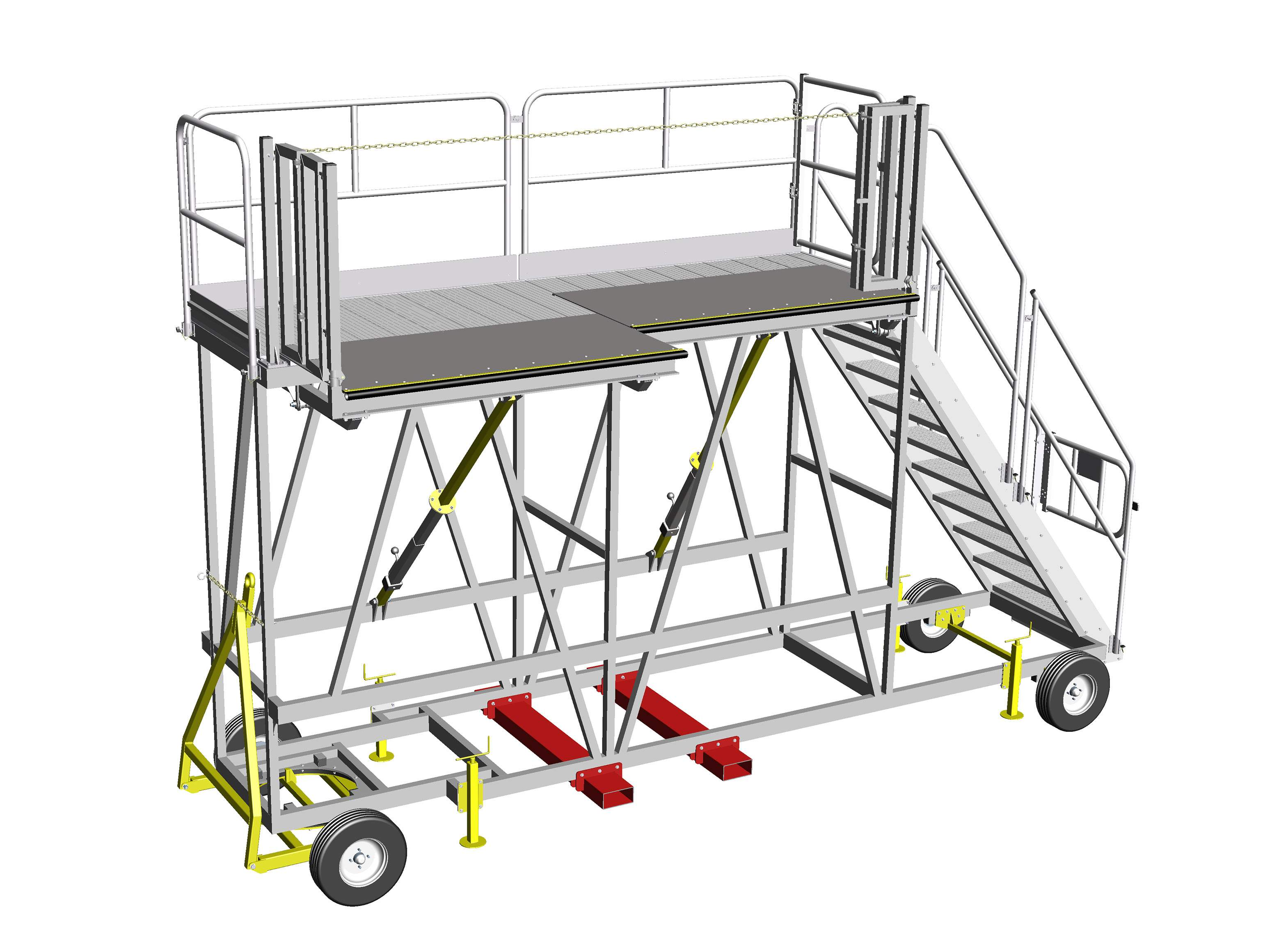 Bespoke Towable Carriage Access System Design