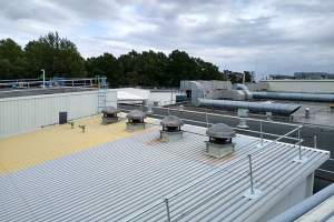 Roof Top Guardrails for Multiple Roof Types