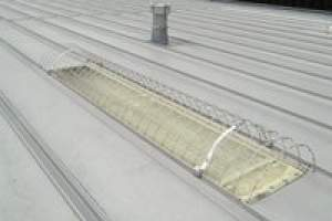 Skylight Screens standing seam style