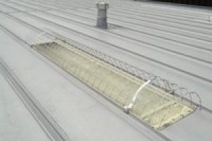 KeeGuard® Skylight Screens standing seam style