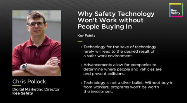 Chris Pollock Kee Safety (image)