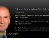 Peter Woodliff Thomas: Culture's Role in Whole-Site Safety