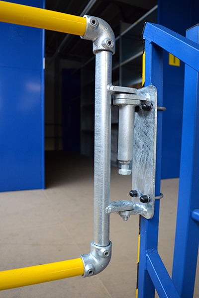 Safe Access With Self Closing Safety Gates Kee Safety Uk